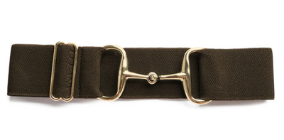 Ellany Snaffle Gold Bit Adjustable Belts 2""