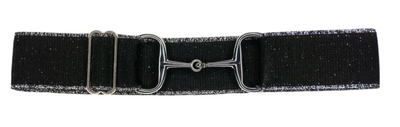 Ellany Snaffle Silver Bit Adjustable Belts 1.5""
