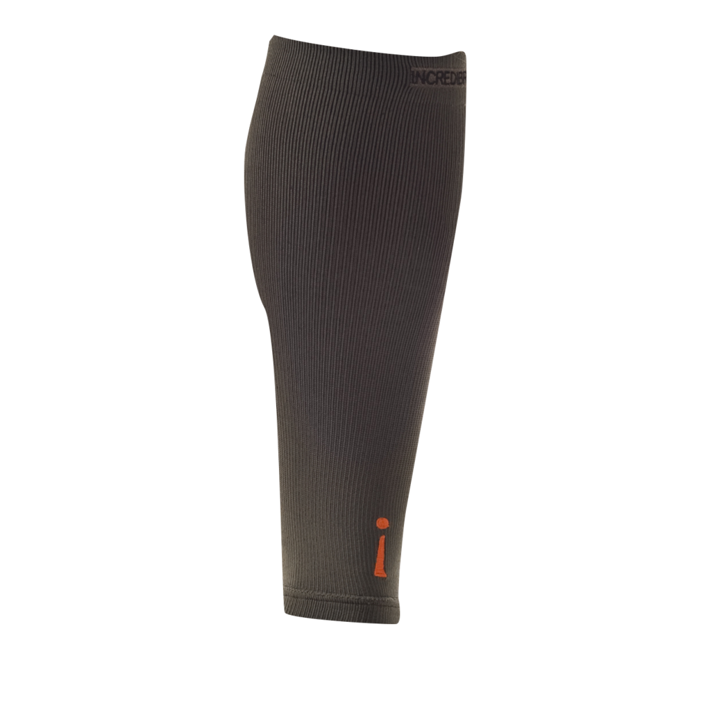 The Incrediwear Calf Sleeve is made up of breathable material, and comes in two sizes, which fit most adults comfortably. The Calf Sleeve is great for accelerated recovery and helpful for injury prevention. All Incrediwear customers can view the fabric content on Incrediwear's website product pages or on the package of all Incrediwear products.  PACKAGE CONTAINS ONE CALF SLEEVE  GUIDELINES FOR USE: Wear as needed for comfort and relief. Incrediwear Active Wear can be worn 24/7. For maximum benefit wear when