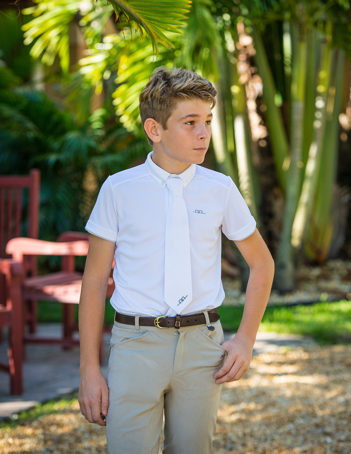 The Alessandro Albanese boys shirt is here and it's awesome!  Check out the Hugo Clean/Cool Boys Short Sleeve Shirt!  Lightweight / Cool and breathable Easy care  / Machine washable