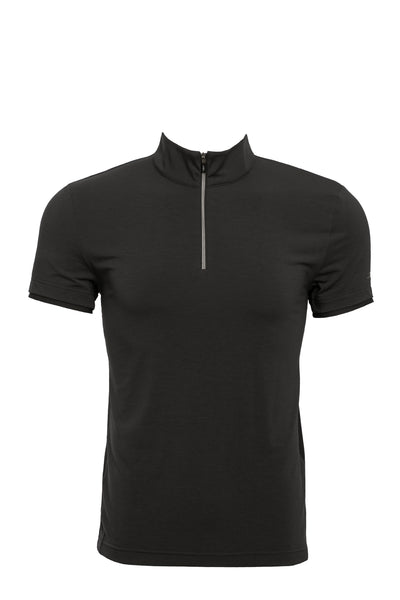 Alessandro Albanese Men's CleanCool Half Zip Training Top - S/S