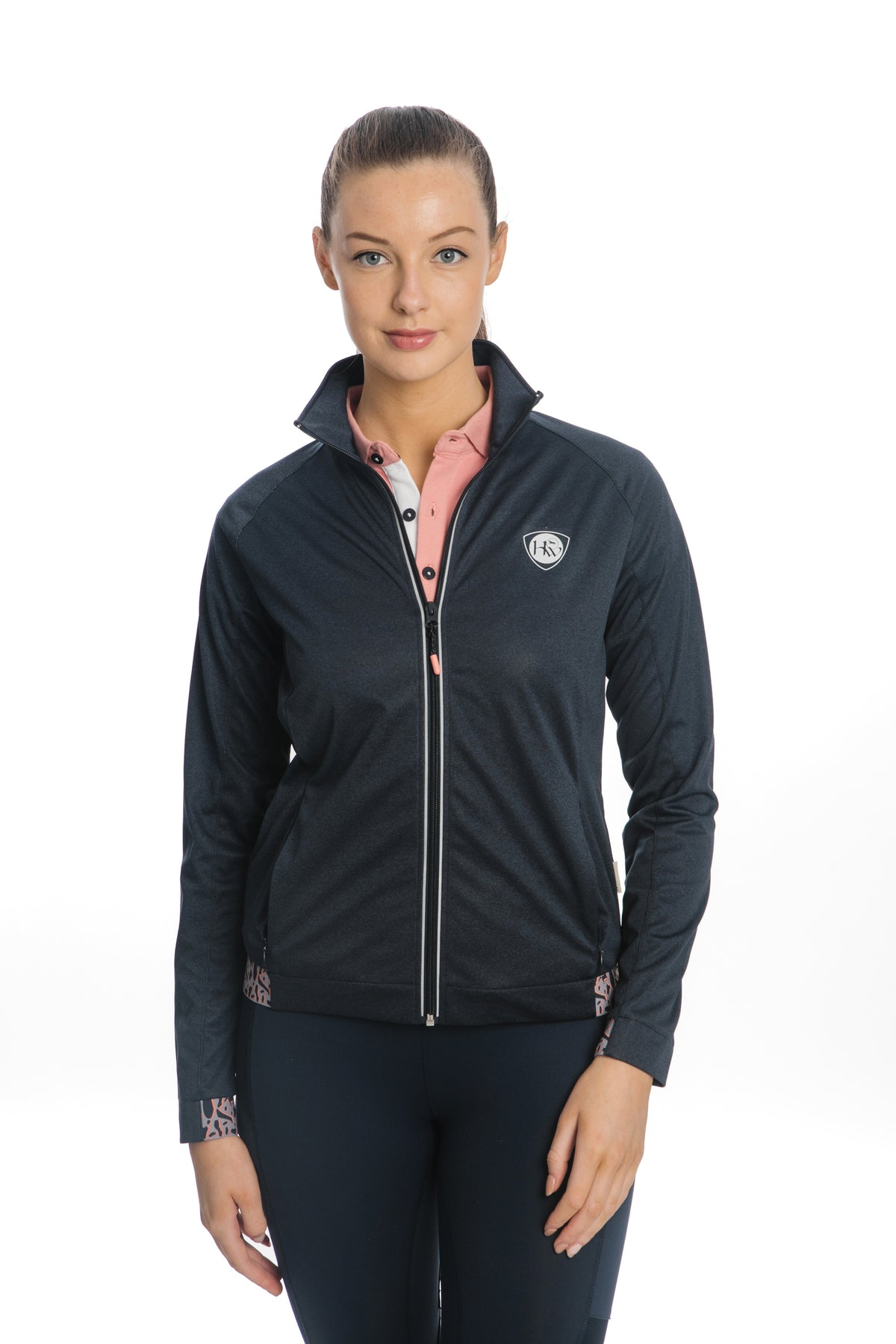Technical, water resistant and breathable, the Horseware Ireland Technical Light Weight Soft shell is a wardrobe must have! created in a stretch fabric for maximum movement.  This windproof softshell is beautifully designed with all your training needs in mind. 100% Polyester / Water resistant & breathable  Stretch fabric for maximum movement  Wind proof bonded fabric / Machine washable