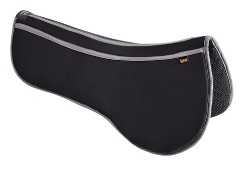 Thin - Effective - Breathable - Non-slip: You wished for it. Invictus made it. The Smart Material layer with the reactive molecular structure is at the heart of the pad to dispense protection where - and when - needed. You have the peace of mind to know that your horse's back is well protected without compromising saddle fit or contact. A 3D spacer textile on the underside of the pad adds elasticity and an additional space for heat and moisture to dissipate. The synthetic suede fabric on top of the pad is b