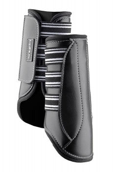 Multiple accolades go to the MultiTeq Boot. Offering full-coverage protection for daily exercise and turnout, the MultiTeq Boot is packed with benefits!  ImpacTeq™ liners provide extreme impact protection The shell will look forever new thanks to its scratch, tear and puncture-resistant EverLeather™ cover Pressure points are dispersed with three straps, and safety is guaranteed with double reinforced safety closures. Sold as a pair Made in the USA