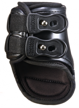 The first boots designed for the specific needs of Equitation riders! Eq-Teq has a classical, sophisticated appearance but is packed with features to provide ultimate protection and comfort for your horse.   Eq-Teq™ Boots featuring removable ImpacTeq™Liners are the most effective protection on the market today Anatomically molded outer shell Virtually unbreakable shock absorbing liner and 2 elastic straps for a more customized fit, are breathable and therefore cooling all while promoting circulation. Liners