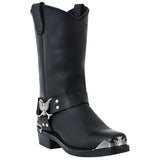 Dingo Men's Black Chopper Boot DI19053