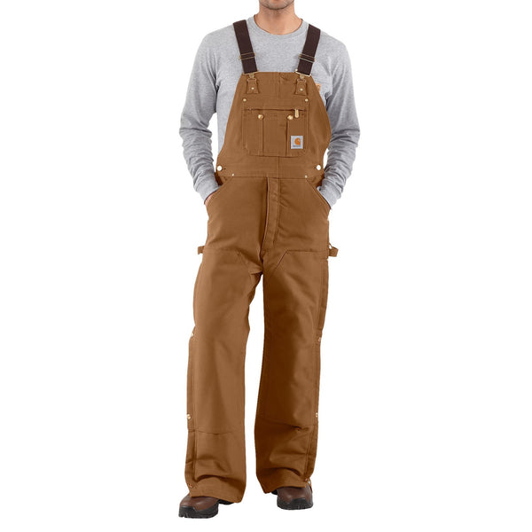 Carhartt Men's Zip to Thigh Bib Overalls R37