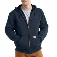 Carhartt Rain Defender Rutland Thermal Lined Hooded Zip Front Sweatshirt 100632