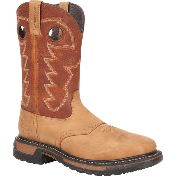 Rocky Men's Steel Toe Original Ride Pull On Boot RKYW041