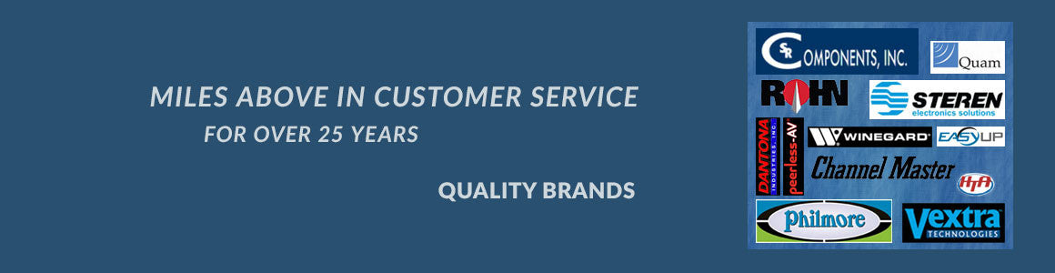 Miles Above in Customer Service: Quality Brands
