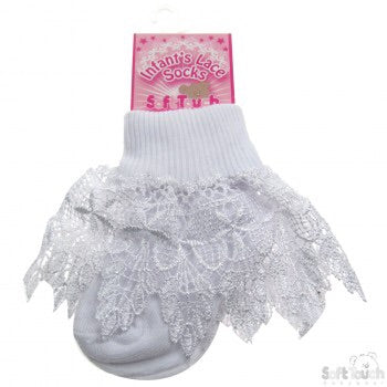 Soft Touch Lace socks