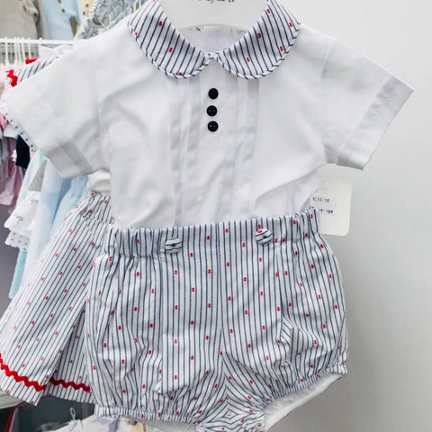 Babylai Boys Sailor 2 Piece