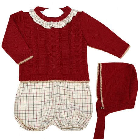 Dulce De Fresa Boys 3 Piece Set