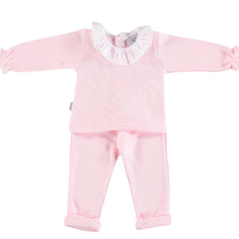 NEW SEASON Pink Frilly Tracksuit