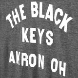 AKRON OH T-SHIRT HEATHER GREY - The Black Keys