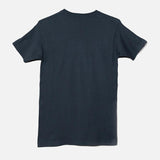 THE BLACK KEYS 3-D LOGO T-SHIRT INDIGO BACK