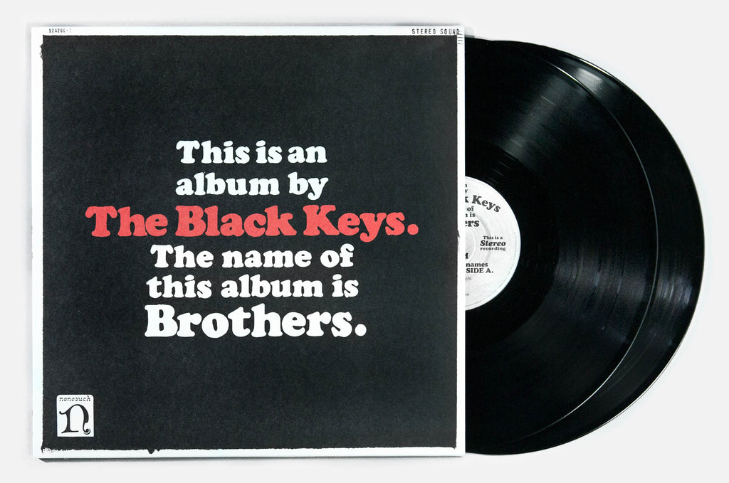 THE BLACK KEYS BROTHERS CD/LP/DIGITAL DETAIL