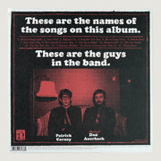 The Black Keys Brothers CD Vinyl Record Back Cover