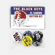 EL CAMINO BUTTON SET - The Black Keys