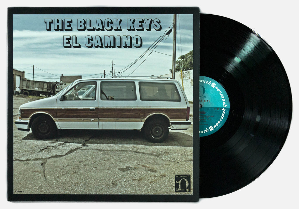THE BLACK KEYS EL CAMINO CD/LP/DIGITAL RECORD