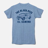 EL CAMINO VAN T-SHIRT BLUE HEATHER - The Black Keys