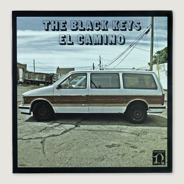 The Black Keys El Camino CD Vinyl Record Front Cover
