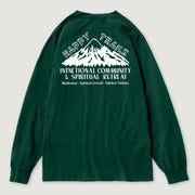 The Black Keys Happy Trails Longsleeve T-shirt Green Back