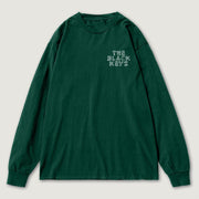 The Black Keys Happy Trails Longsleeve T-shirt Green Front