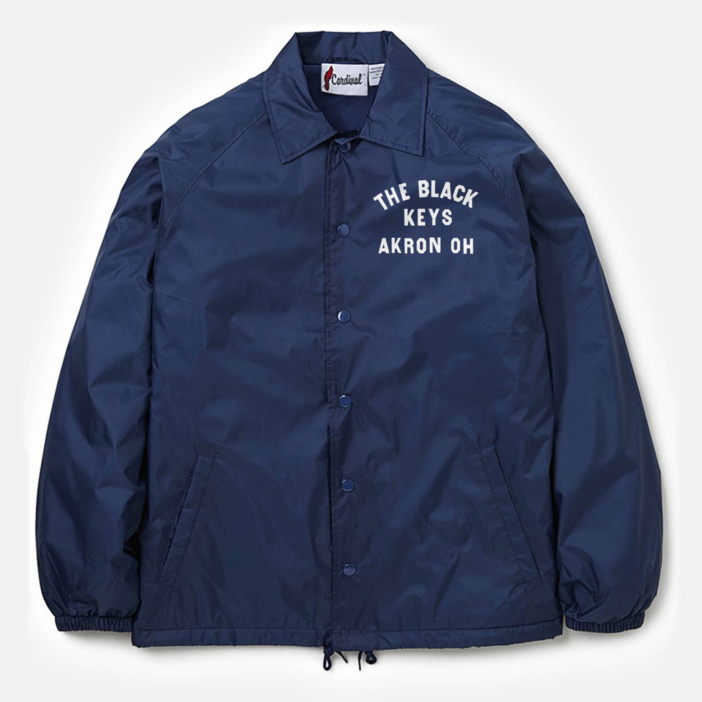 54ae9b95b58a THE BLACK KEYS NAVY COACH JACKET – The Black Keys