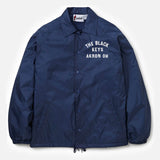 THE BLACK KEYS NAVY COACH JACKET