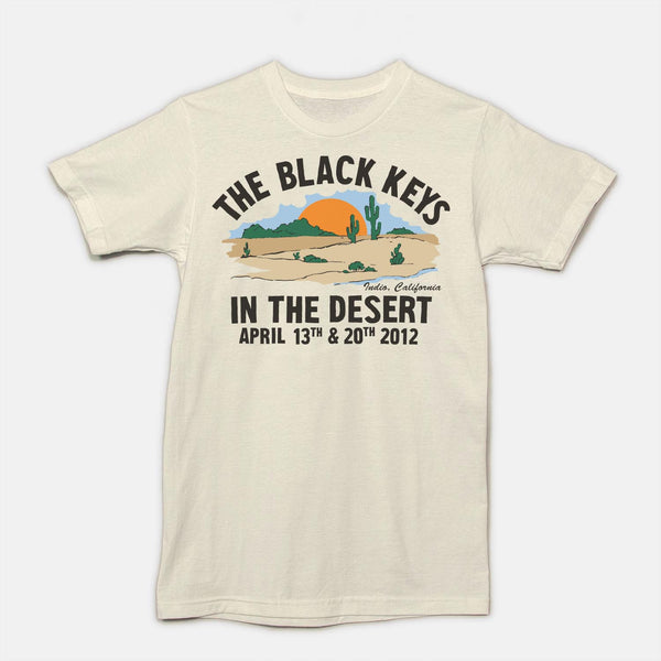 THE BLACK KEYS - COACHELLA - REISSUE - OFF WHITE - The Black Keys
