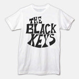 DRUM HEAD LOGO - WHITE - The Black Keys