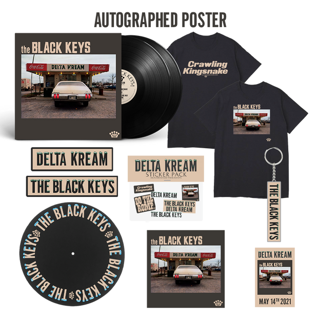 Autographed Kingsnake Bundle Black Vinyl (PRE-SALE)