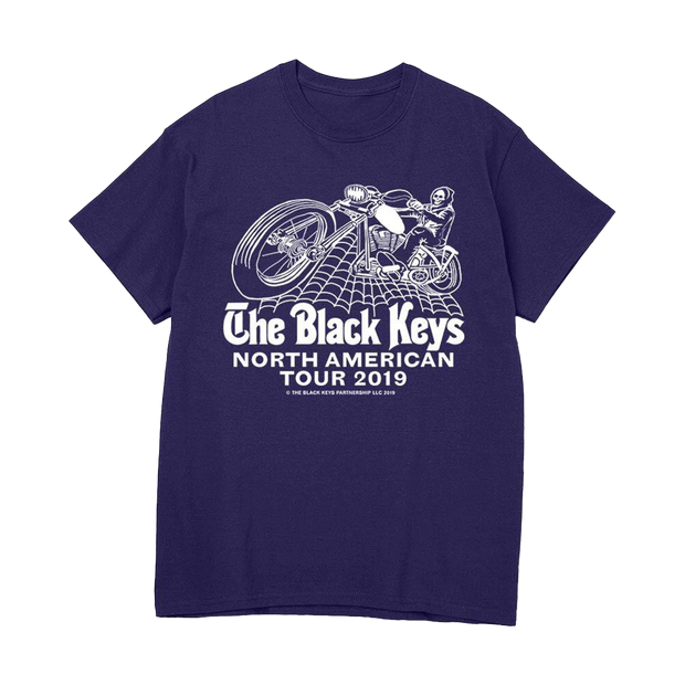 PURPLE SPIDER BIKE TEE