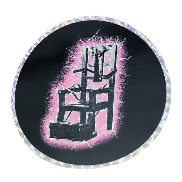 LET'S ROCK TOUR CIRCLE CHAIR STICKER