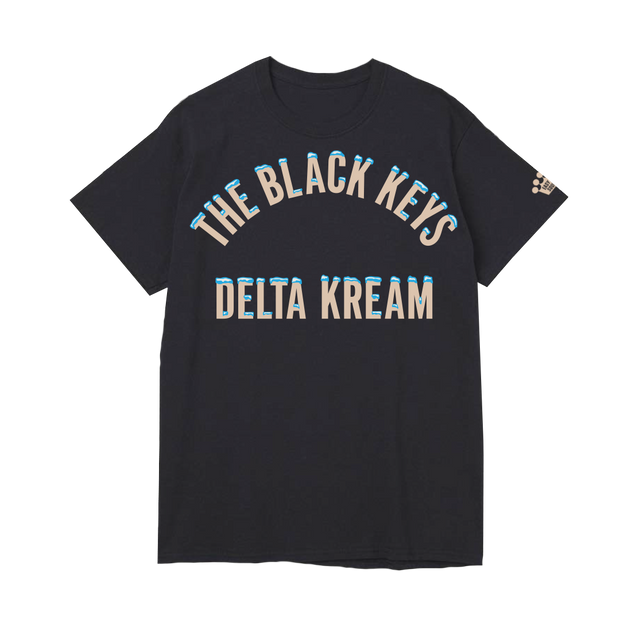 Delta Kream Black Unisex Tee