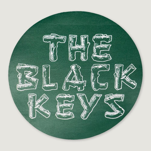 2019 TOUR CIRCLE GREEN THE BLACK KEYS STICKER