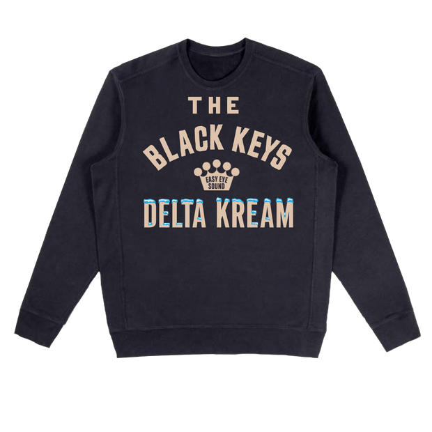 TBK Delta Kream Black Crewneck Sweatshirt (PRE-SALE)