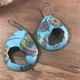 a•vo  earrings-light turquoise