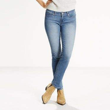 711 Levi's Skinny Jeans - model worn fade (Women size)