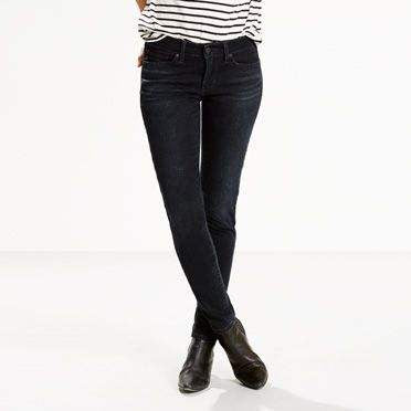 711 Levi's Skinny Jeans - model deep wave (Women size)