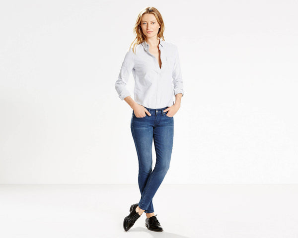 711 Levi's Skinny Jeans - model Mountain Sound (Women size)