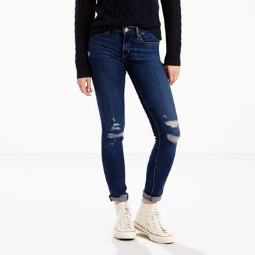 711 Levi's Skinny Jeans - model Damage is done (Women size)