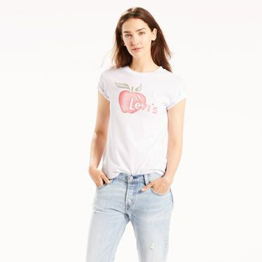 Levi's The vintage perfect tee - model Apple white graphic