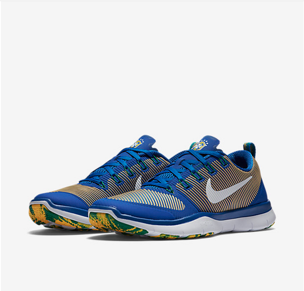 Nike Free training versatility Amp - Brazil edition (men)