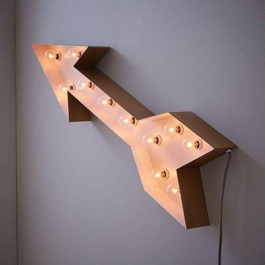 Arrow Light By West ELM Brooklyn