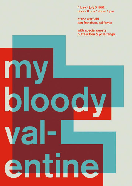 Swissted - My Bloody Valentine poster
