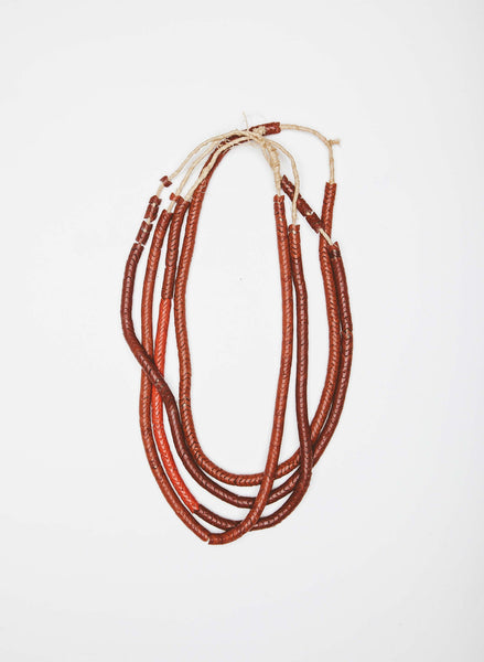 "Imogene + willie ""antique snake bead necklace"""
