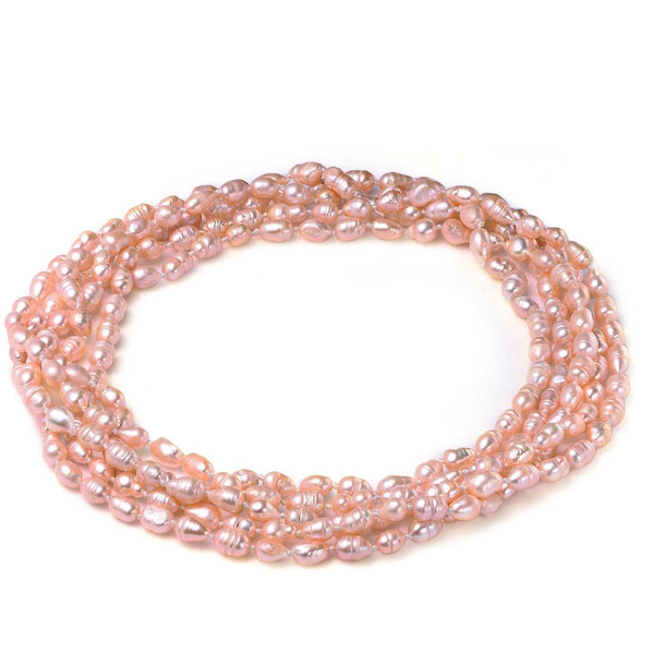 Pink 6-7mm Necklace Cultured Freshwater Pearl