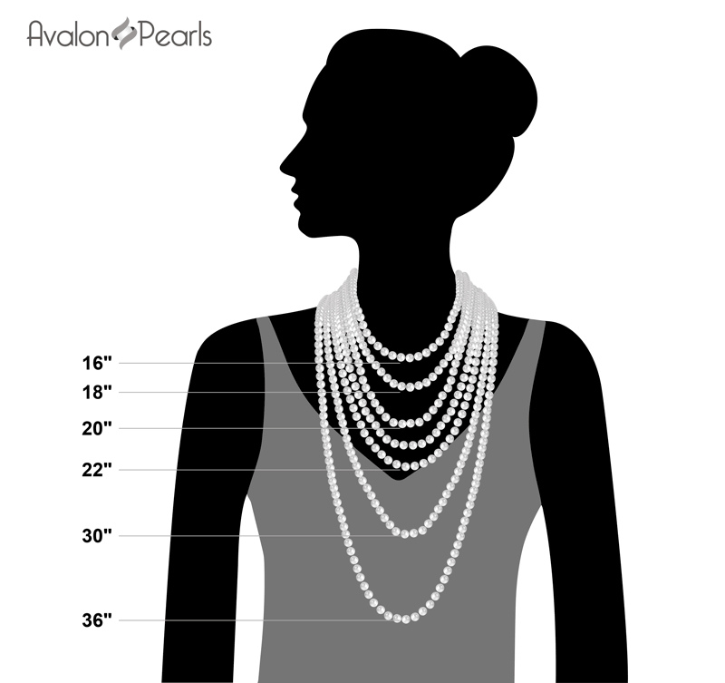 Pearl Necklace Length Guide